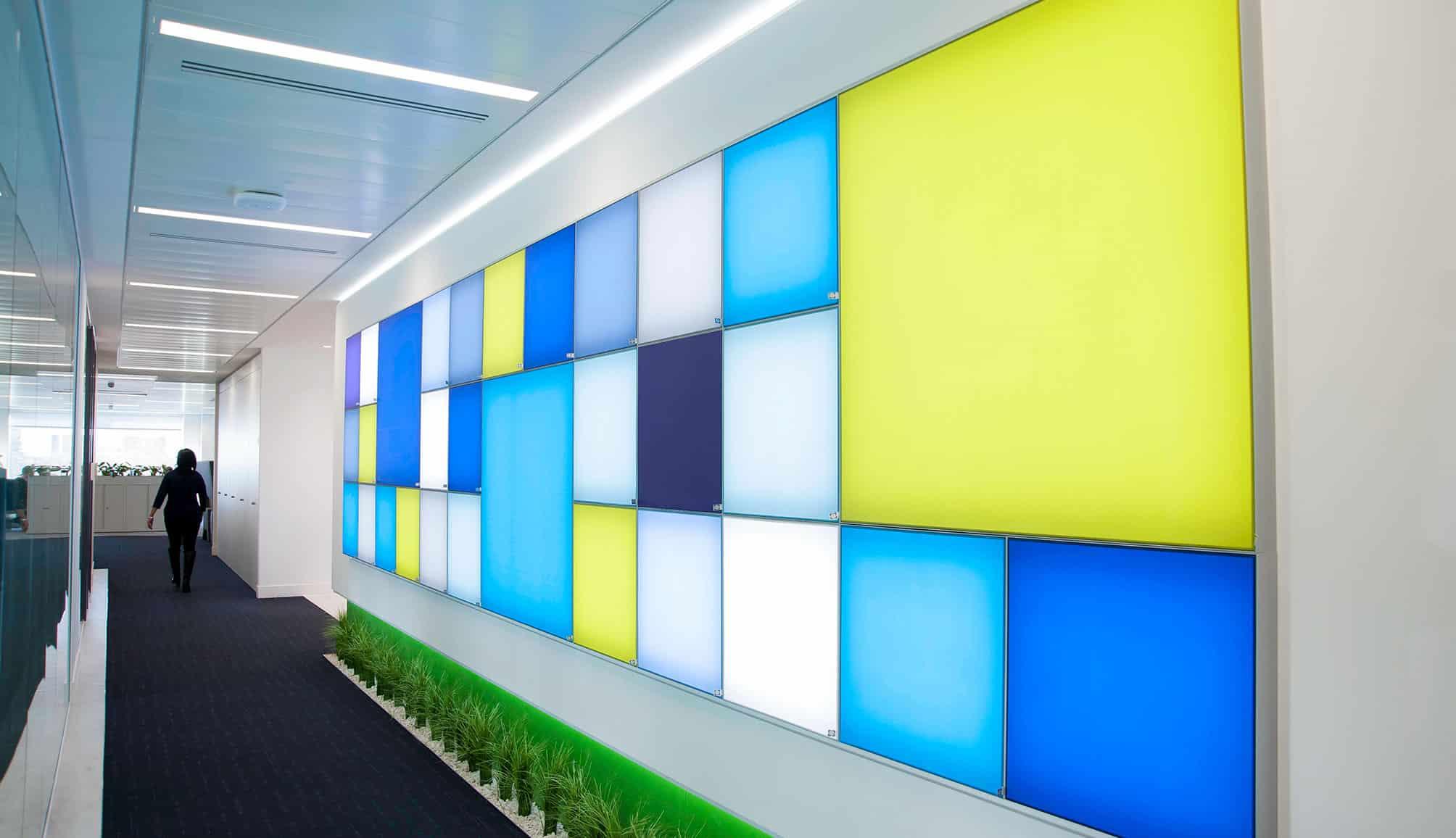 lighting design for office