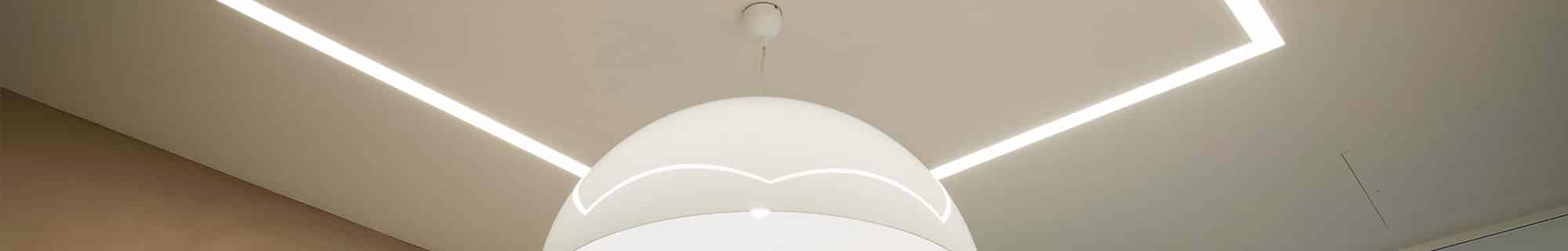 recessed ceiling lighting and pendant