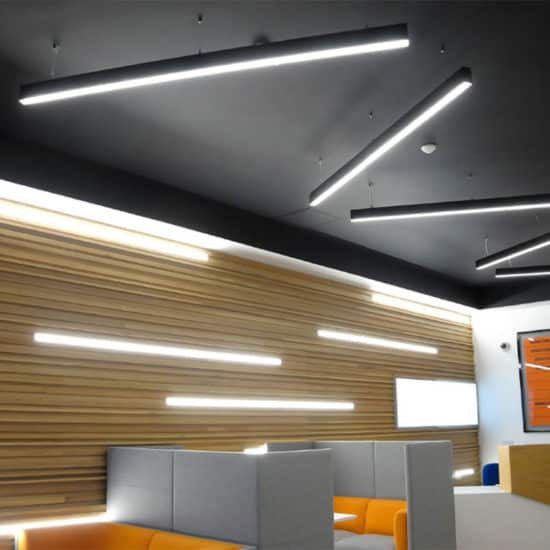 surface and suspended lighting