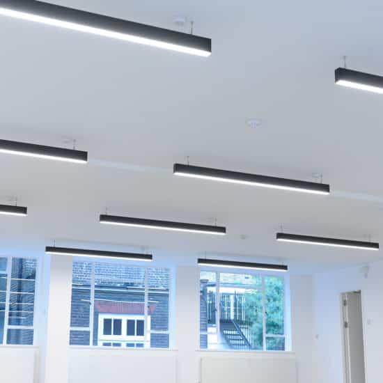 black led linear lighting solution
