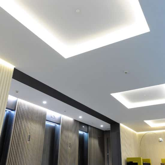wall mounted lighting system