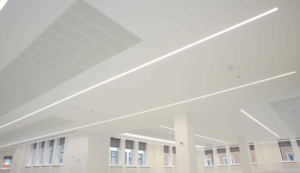mount lighting recessed m-line