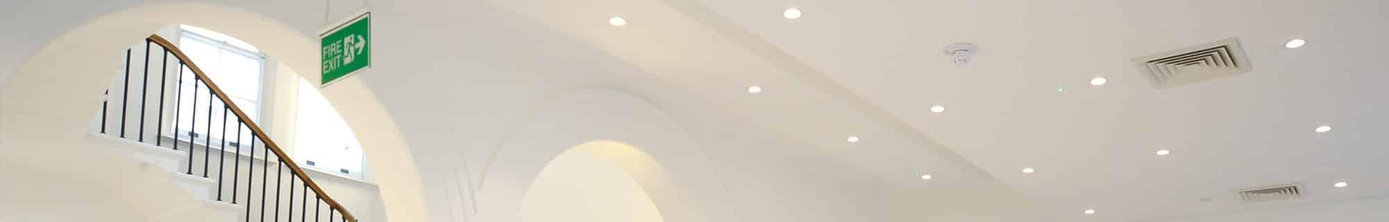 bespoke recessed emergency lighting