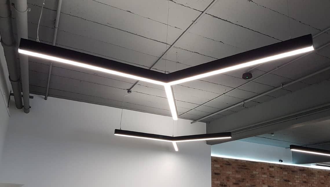 showroom for bespoke lighting design