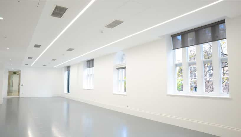 recessed linear lighting
