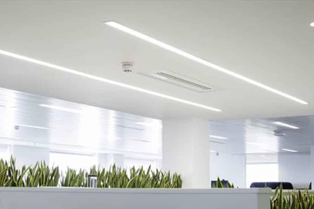 Linear ceiling lighting solution