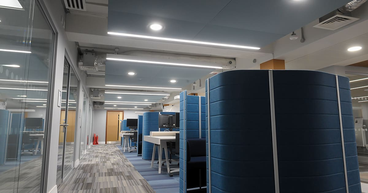 University of Reading Linear Lighting Installation
