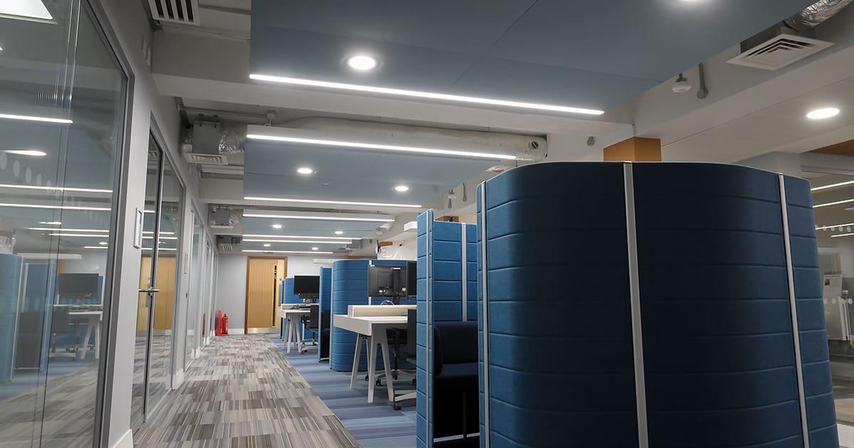 University of Reading Linear Lighting Installation
