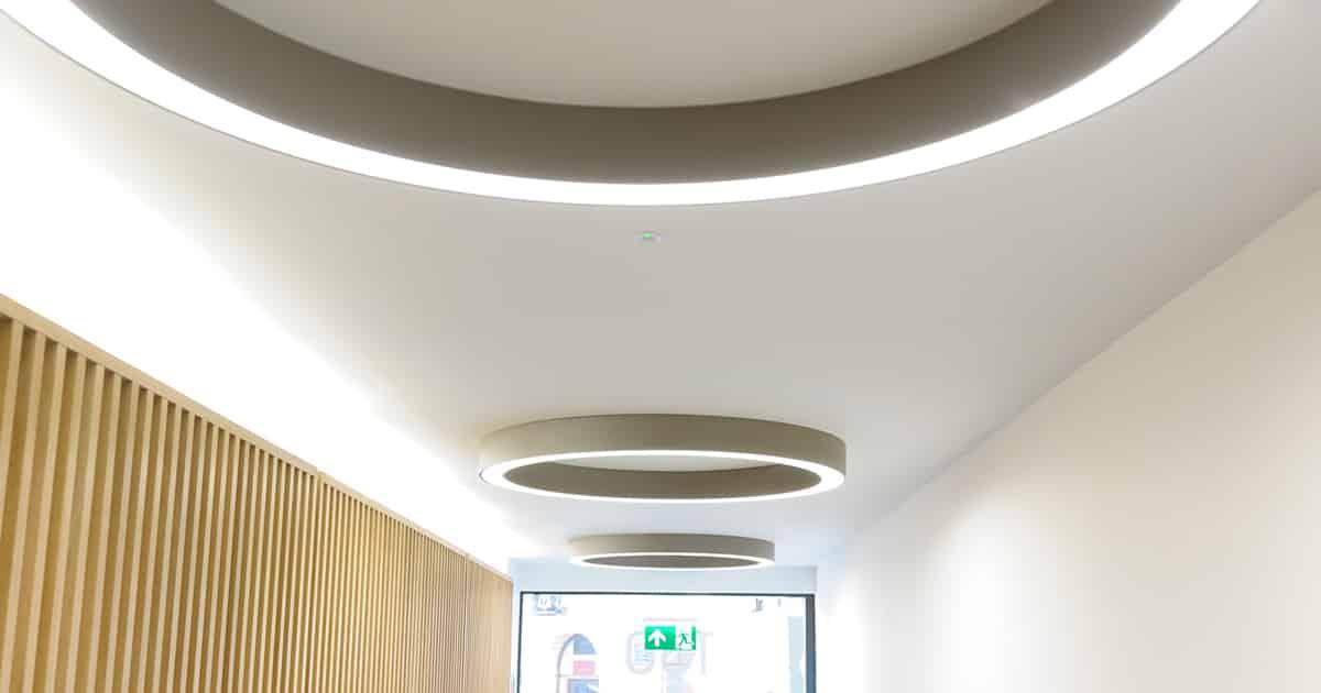 circular lighting