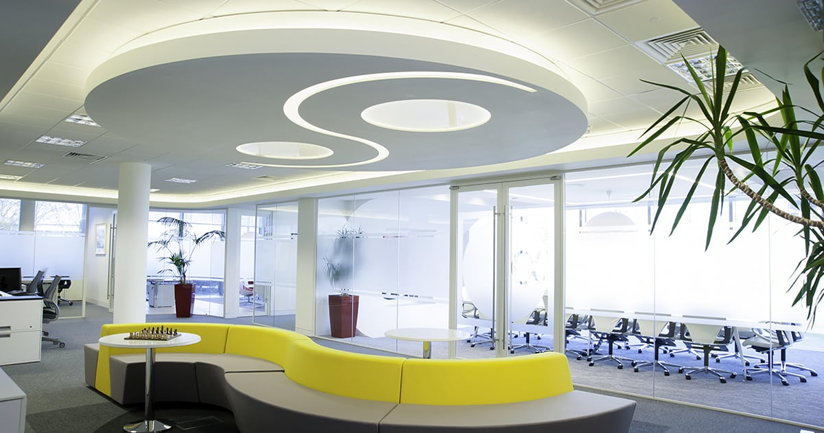 office interior lighting