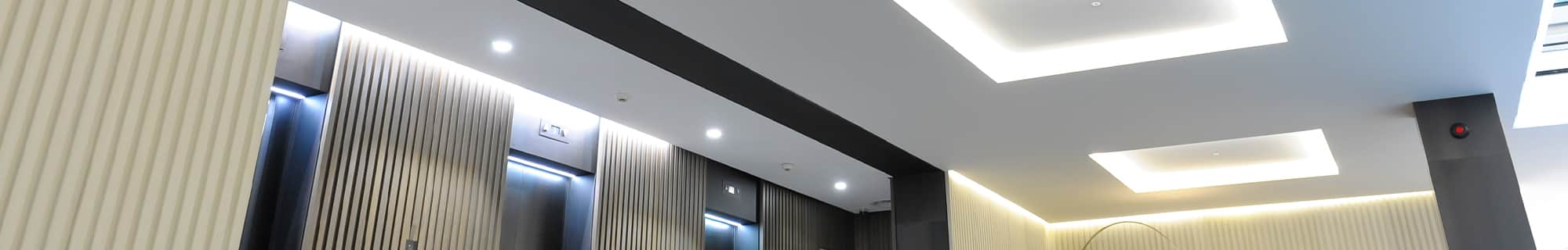 LED recessed down lights