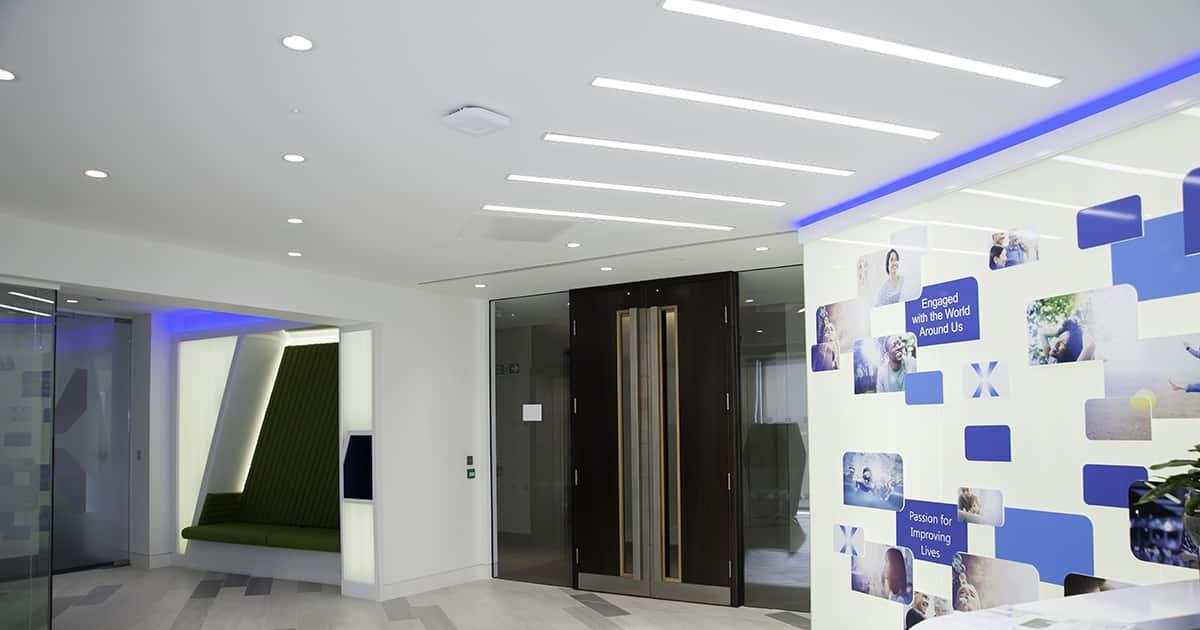 commercial office lighting