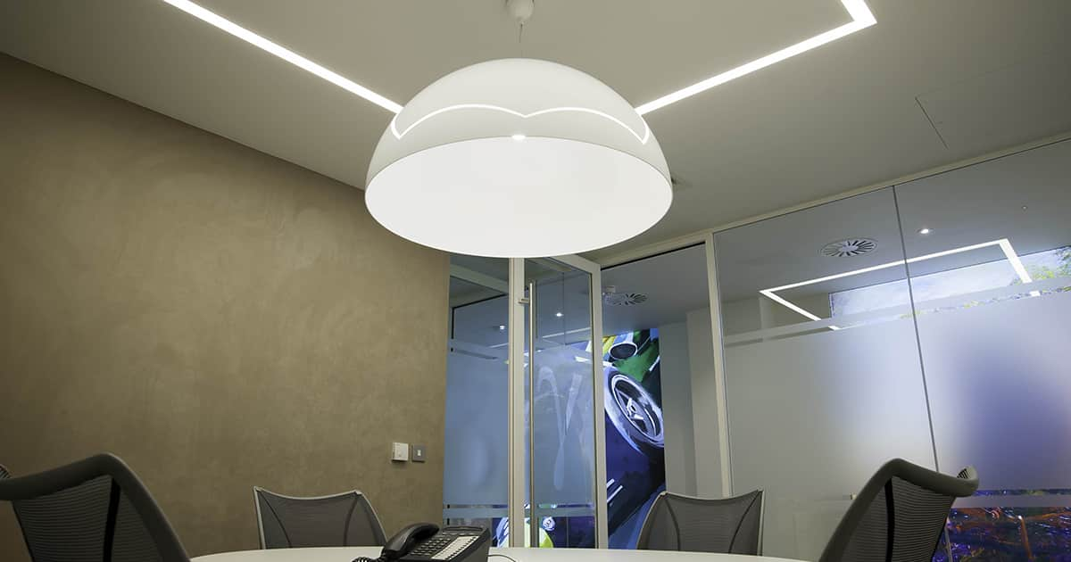 recessed commercial lighting