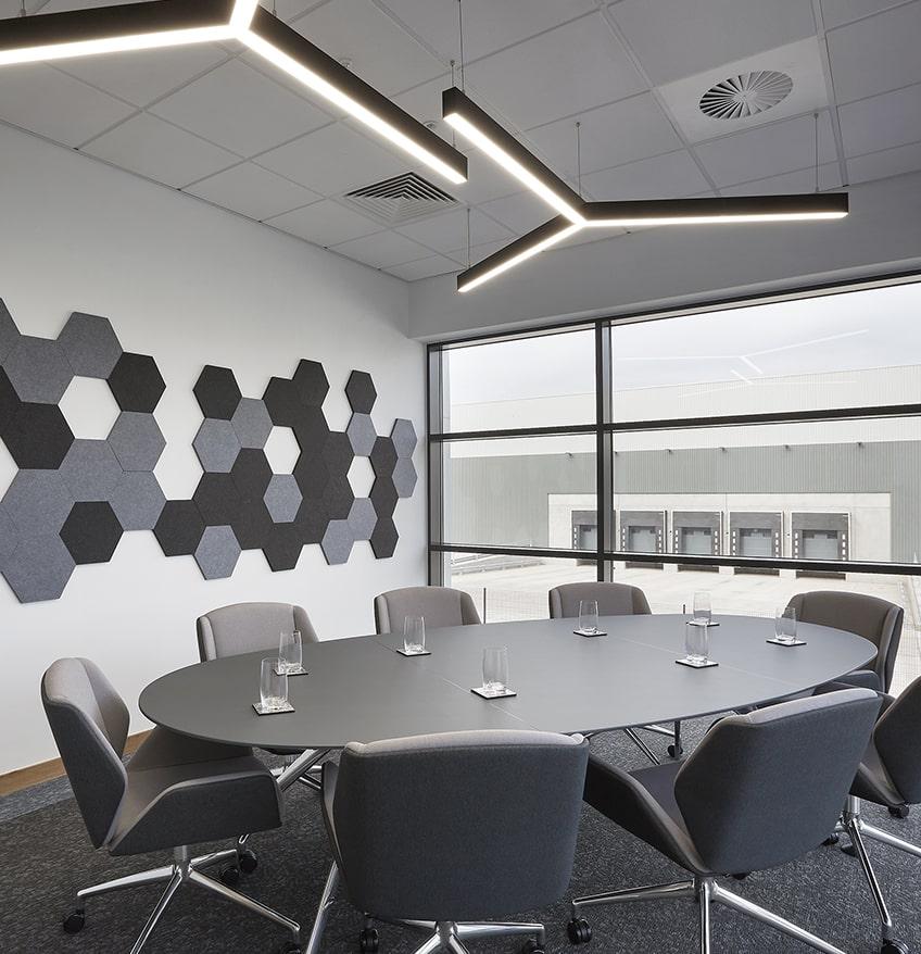 office lighting lux obex